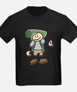 Happy Hiker Boy T-Shirt