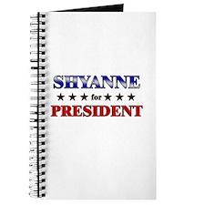 SHYANNE for president Journal