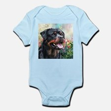 Rottweiler Painting Infant Bodysuit