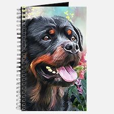 Rottweiler Painting Journal
