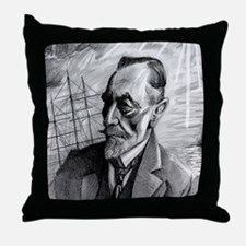 Joseph Conrad Throw Pillow