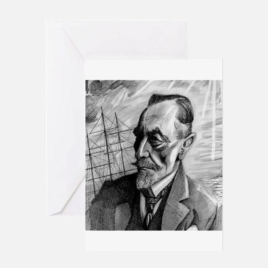 Joseph Conrad Greeting Card