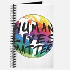 HUMAN LIVES MATTER! Journal