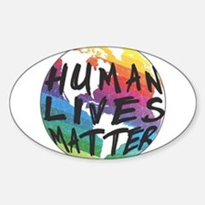 HUMAN LIVES MATTER! Decal