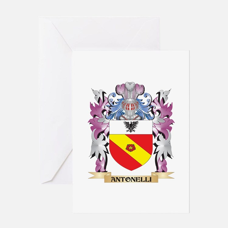 Antonelli Coat of Arms (Family Cres Greeting Cards