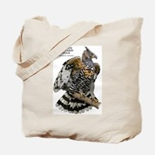 African Crowned Eagle Tote Bag