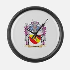 Antony Coat of Arms (Family Crest Large Wall Clock