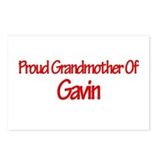 Proud Grandmother of Gavin Postcards (Package of 8