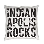 Indianapolis Rocks Everyday Pillow