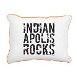 Indianapolis Rocks Rectangular Canvas Pillow