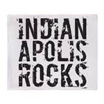 Indianapolis Rocks Throw Blanket