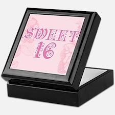 Sweet Sixteen Keepsake Box