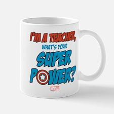 Captain America Teacher Mug