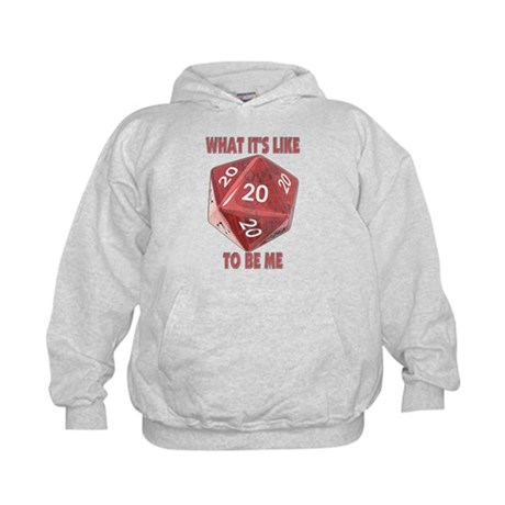 What It's Like To Be Me Kids Hoodie
