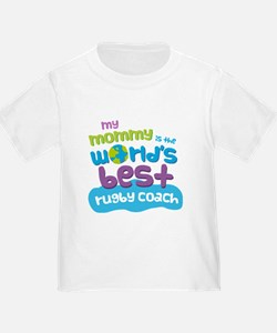 Rugby Coach Gift for Kids T