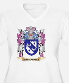 Archambault Coat of Arms (Family Plus Size T-Shirt