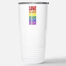 Love is Love is Love Travel Mug