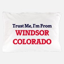 Trust Me, I'm from Windsor Colorado Pillow Case