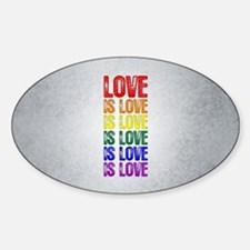 Love is Love is Love Decal
