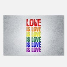 Love is Love is Love Postcards (Package of 8)