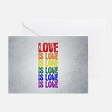 Love is Love is Love Greeting Cards (Pk of 20)