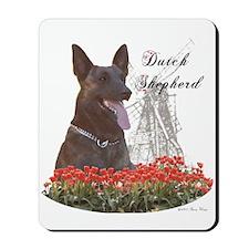 Dutchie-tulips Mousepad