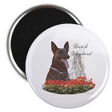 "Dutchie-tulips 2.25"" Magnet (10 pack)"