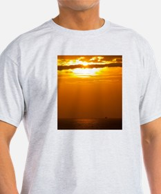 Funny Ships and sunsets T-Shirt