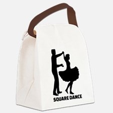 Square dance Canvas Lunch Bag