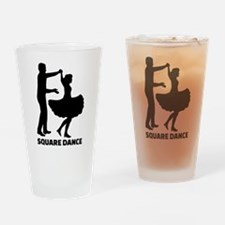 Square dance Drinking Glass