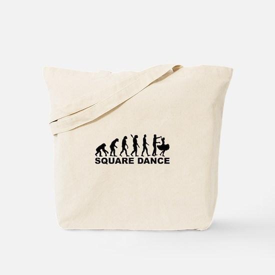Evolution square dance Tote Bag