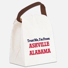 Trust Me, I'm from Ashville Alaba Canvas Lunch Bag