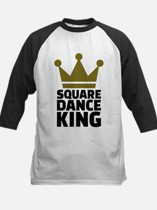 Square dance king Kids Baseball Jersey