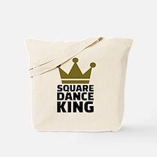 Square dance king Tote Bag
