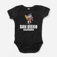 San Diego, California Baby Bodysuit