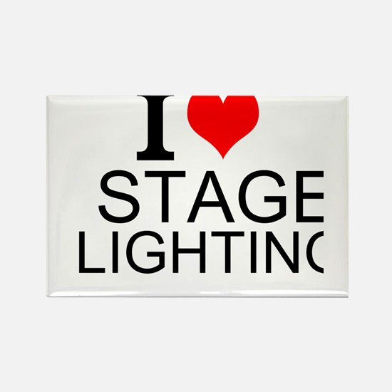 I Love Stage Lighting Magnets