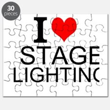 I Love Stage Lighting Puzzle