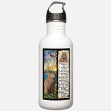 Capybara FUN Property Laws & Rules Water Bottle