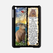 Capybara FUN Property Laws & Rules iPad Mini Case