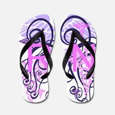 RN Pink and Purple Flip Flops Flip Flops