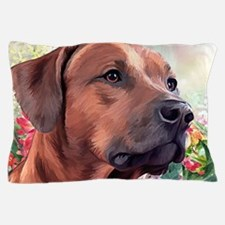 Rhodesian Ridgeback Painting Pillow Case