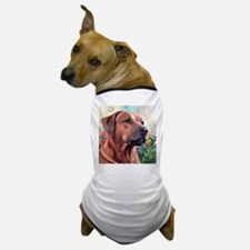 Rhodesian Ridgeback Painting Dog T-Shirt