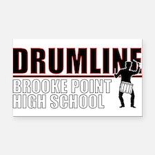 BPHS Drumline Rectangle Car Magnet