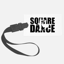 Square dance Luggage Tag