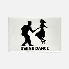 Swing dance Rectangle Magnet