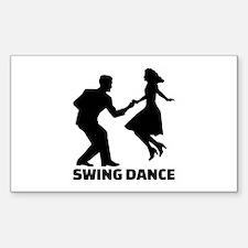Swing dance Decal