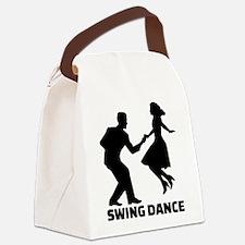 Swing dance Canvas Lunch Bag