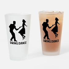 Swing dance Drinking Glass