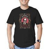 Lisa haney Fitted Dark T-Shirts