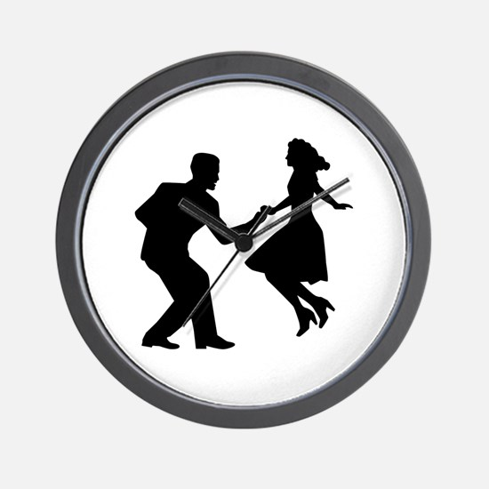Swing dancing Wall Clock